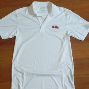 Men's Ole Miss Polo Shirt, Size Small